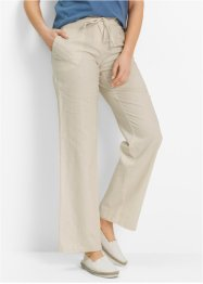 Leinenhose, bpc bonprix collection, kieselbeige