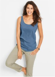 Shirttop, bpc bonprix collection, jeansblau