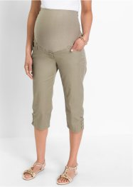 Umstandshose, Capri-Länge, bpc bonprix collection, new khaki
