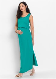 Umstands-Maxikleid / Stillkleid, bpc bonprix collection, smaragd