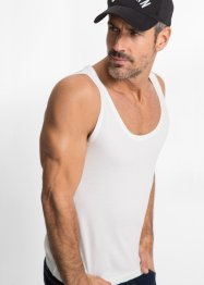 Tanktop (2er-Pack) Slim Fit, bpc bonprix collection