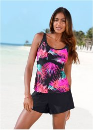 Tankini Oberteil, bpc bonprix collection, pink/schwarz