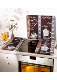Universal Abdeckplatte mit Kaffeemotiv, bpc living bonprix collection
