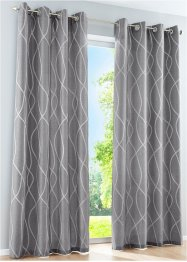 Jacquard Vorhang (1er Pack), bpc living bonprix collection