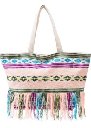 Ethno-Shopper mit bunten Fransen, bpc bonprix collection