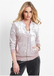 Sweatjacke aus Pannesamt, bpc selection