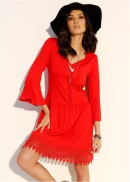 Boho-Kleid mit Applikation, BODYFLIRT