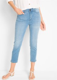 7/8-Push-up-Stretchjeans mit Schlitz, bpc bonprix collection