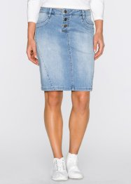 Saia jeans stretch