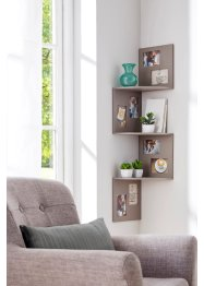 Eckregal mit Bilderrahmen, bpc living bonprix collection