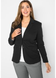 Baumwoll Jersey-Blazer, tailliert, bpc bonprix collection