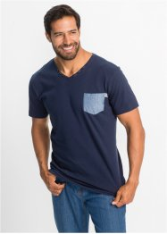 T-Shirt mit Brusttasche Regular Fit, John Baner JEANSWEAR