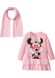 """MINNIE"" Kleid + Schal (2-tlg. Set), Minnie Mouse"
