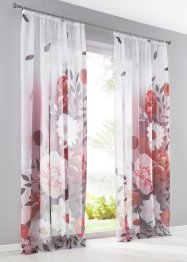Transparente Gardine mit Digital Druck (1er Pack), bpc living bonprix collection