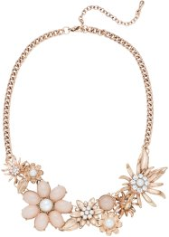Statement Kette mit Blumen, bpc bonprix collection