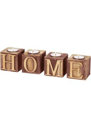 "Teelichthalter ""Home"" (4-tlg. Set), bpc living"