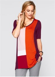 Blusa colour block oversized