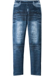 Mädchen Leggings mit Denimdruck, bpc bonprix collection