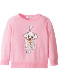 Pullover mit Pailletten, bpc bonprix collection