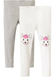 Leggings (2er-Pack), bpc bonprix collection