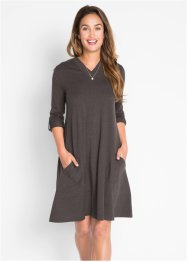 Shirt-Kleid mit Krempelarm, bpc bonprix collection