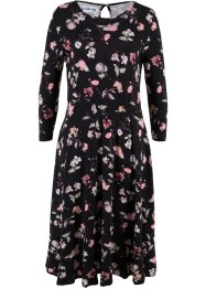 Kleid mit Blumenprint, 3/4-Arm - designt von Maite Kelly, bpc bonprix collection