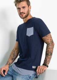 Langes T-Shirt Slim Fit, RAINBOW