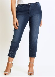 7/8-Stretchjeans mit Glitzersteinen, bpc selection