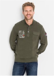 Troyerpullover im Regular Fit, bpc bonprix collection