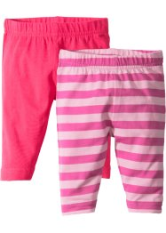 Baby Leggings (2er-Pack) Bio-Baumwolle, bpc bonprix collection