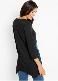 Zipfel-Longshirt, 3/4-Arm, bpc bonprix collection