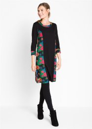 Shirt-Kleid mit 3/4-Arm, bpc bonprix collection