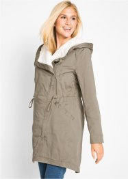 Leichter Parka mit Teddy-Futter, bpc bonprix collection
