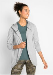 Langarm-Sweatjacke mit Kapuze, bpc bonprix collection