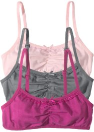 Bustier (3er-Pack), bpc bonprix collection