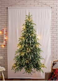 LED-Vorhang mit Tannenbaum Druck (1er Pack), bpc living bonprix collection