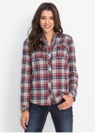 Flanell-Bluse, John Baner JEANSWEAR