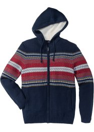Strickjacke mit Kapuze Regular Fit, bpc bonprix collection