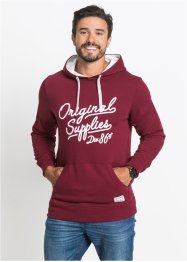 Sweatshirt mit Kapuze und Druck Regular Fit, bpc bonprix collection