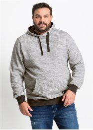 Meliertes Sweatshirt mit Kapuze Regular Fit, bpc bonprix collection