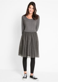 Shirtkleid mit Tüllrock, 3/4-Arm - designt von Maite Kelly, bpc bonprix collection