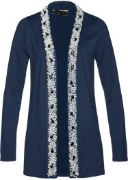 Premium Strickjacke mit Perlenapplikation, bpc selection premium