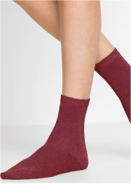 Damen Socken mit Glitzergarn (5er-Pack), bpc bonprix collection