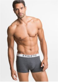 Boxershort mit elastischem Bund (3er-Pack), bpc bonprix collection