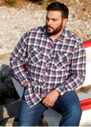 Flanell-Hemd Regular Fit, John Baner JEANSWEAR