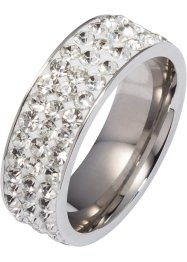 Ring mit Glitzersteinen, bpc bonprix collection