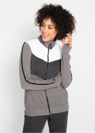 Sweatjacke mit langen Ärmeln, bpc bonprix collection