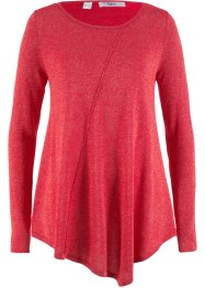Langarm-Pullover mit Glitzergarn, bpc bonprix collection