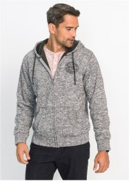 Sweatjacke mit Teddyfutter Regular Fit, bpc bonprix collection