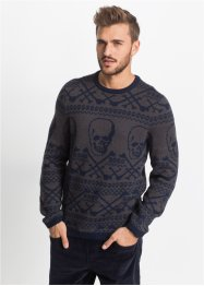 Pullover mit Wolle im Slim Fit, RAINBOW